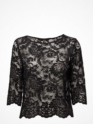 Blusar - Only Onlpiper 3/4 Lace Top Wvn