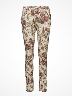 Please Jeans mönstrade byxor Fine Flap Paislay Forrest