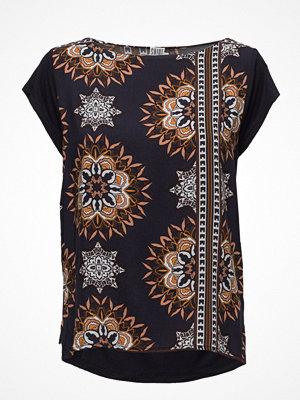 Saint Tropez Kaleidoscope T-Shirt W. Chiff.