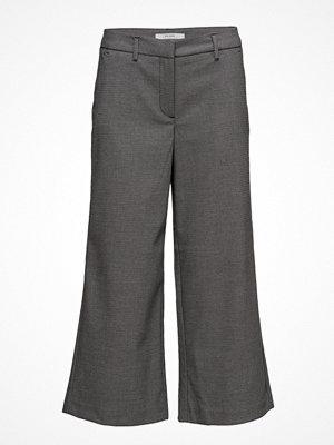 2nd One grå byxor Eloise 113 Crop, Black Shade, Pants