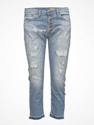 Jeans - Please Jeans 6b Capri Trash Denim