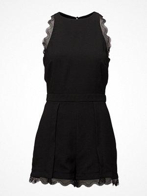 Jumpsuits & playsuits - Mango Blond-Lace Appliqu Jumpsuit