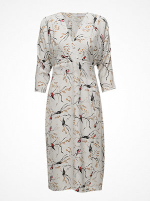 Coster Copenhagen Kimono Dress W. Bird Print