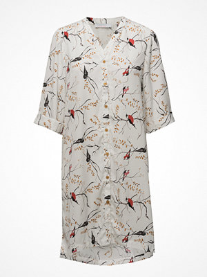 Tunikor - Coster Copenhagen Long Shirt W. Bird Print