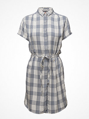 Hilfiger Denim Thdw Basic Check Dress S/S 10