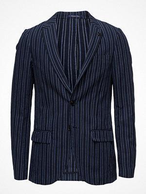 Kavajer & kostymer - Scotch & Soda Chic Blazer With Peak Lapel In Cotton/ Linen