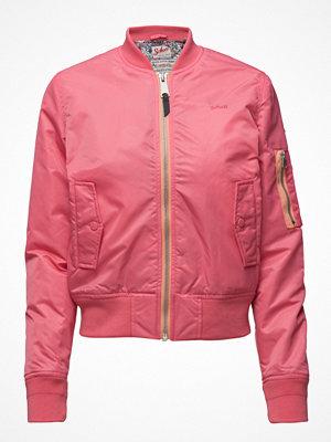Schott rosa bomberjacka Bomber Jacket