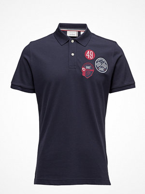 Gant Lm. Multi Badge Pique Ss Rugger