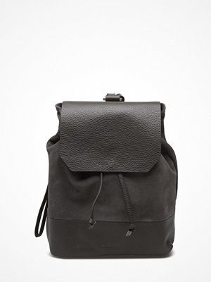 Royal Republiq mörkgrå ryggsäck Bucket Backpack Petite Suede
