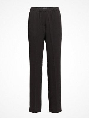 Samsøe & Samsøe svarta byxor Hoys Straight Pants 7331