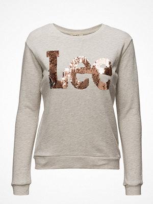 Lee Jeans Logo Crew Sws Ecru Mele
