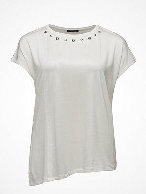 Violeta by Mango Stud Panel T-Shirt