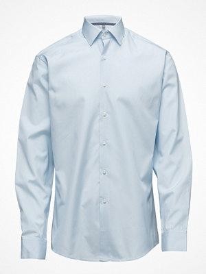 Skjortor - Seven Seas 100% Cotton Light Blue Shirt Modern Fit