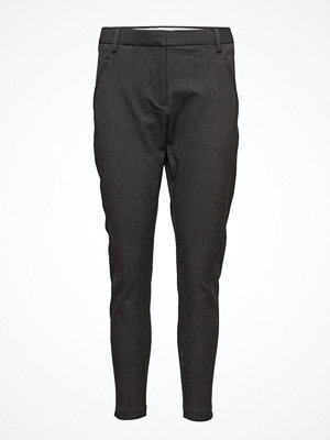 Fiveunits svarta byxor Angelie 315 Zip, Dark Grey Melange, Pants