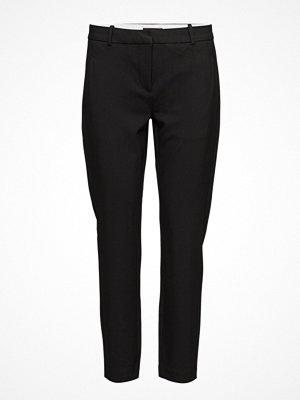 Fiveunits svarta byxor Kylie 285 Crop, Black Glow, Pants