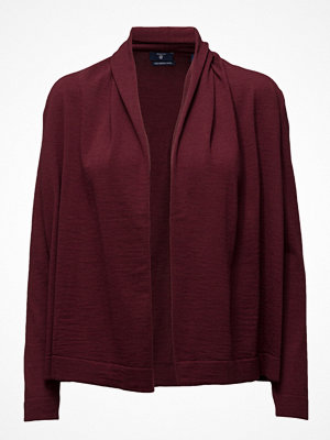 Gant Fine Merino Wool Draped Cardigan