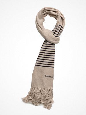 Halsdukar & scarves - Tommy Hilfiger Tommy Fringe Knit Scarf