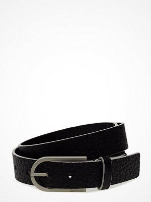 Calvin Klein Casual Belt, 001, 80