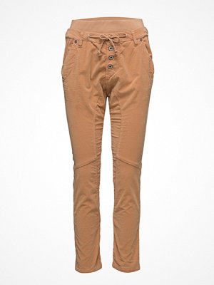 Please Jeans beige byxor Danny Vel. Walnut