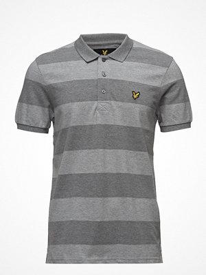 Pikétröjor - Lyle & Scott Wide Stripe Polo Shirt
