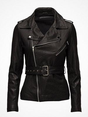 MDK / Munderingskompagniet Haumea Biker Belt Leather Jacket (Black)