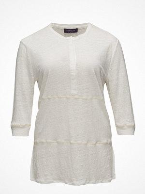 Violeta by Mango Long Linen T-Shirt