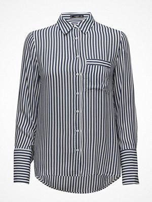 Skjortor - Mango Striped Flowy Shirt
