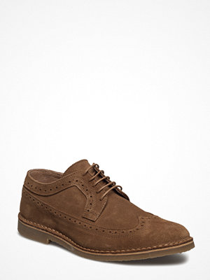 Vardagsskor & finskor - Selected Homme Shhroyce New Light Suede Brogue Shoe