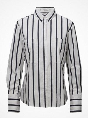 Skjortor - Mango Stripe-Patterned Shirt