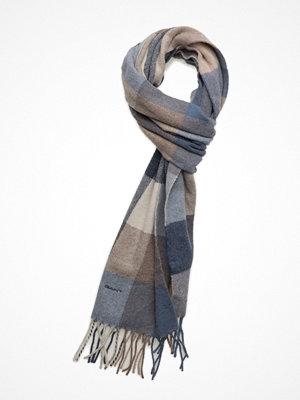 Halsdukar & scarves - Gant O1. Multicheck Lambswool Scarf
