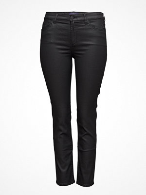 Jeans - Violeta by Mango Coated Slim-Fit Carmen Jeans