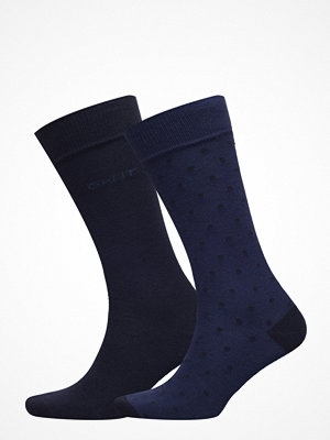 Gant O1. 2-Pack Dot And Solid Socks