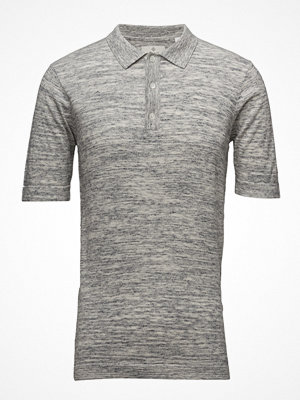 Pikétröjor - Gant G2. Space Dye Cotton Linen Ss Polo