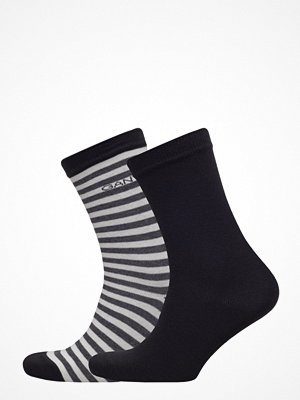 Gant 01. 2 Pack Solid And Barstripe Sock