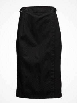 Kjolar - T By Alexander Wang Midi Wrap Skirt