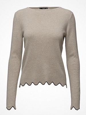 Toppar - Mango Scalloped Edges Sweater