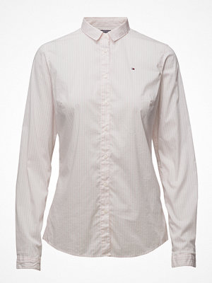 Skjortor - Tommy Hilfiger Sp Duda Str Mix Shirt Ls W2