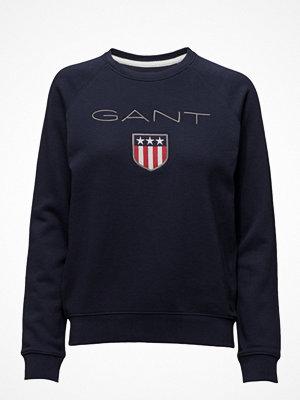 Tröjor - Gant O1. Gant Shield Logo C-Neck Sweat