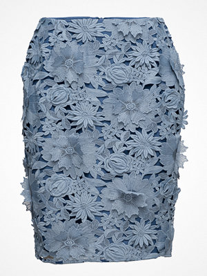 French Connection Manzoni 3d Floral Lace Pencil Skirt