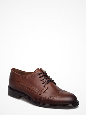 Selected Homme Shdbaxter Brogue Leather Shoe