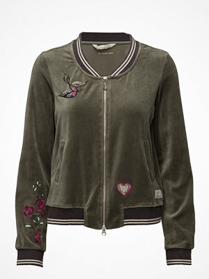 Odd Molly bomberjacka med tryck Get Along Jacket