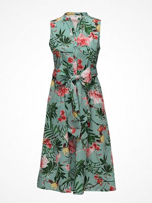 Mango Tropical Print Dress