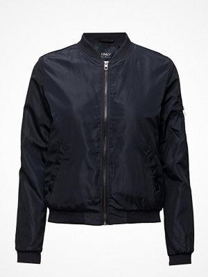 Only svart bomberjacka Onllinea Nylon Short Jacket Otw Noos