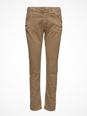 Please Jeans beige byxor Fancy Camel Studs