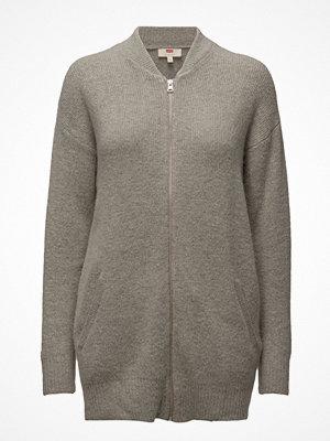 Tunikor - LEVI´S Women Zip Front Cardi Snow Grey Heat