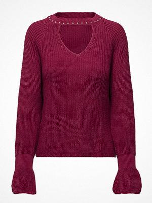 Mango Pearls Neckline Sweater