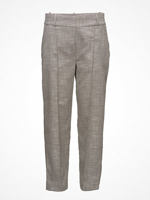 Fiveunits grå byxor Julianne 421 Crop, Cube, Pants