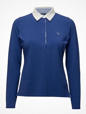 Pikétröjor - Gant Solid Jersey Ls Rugger