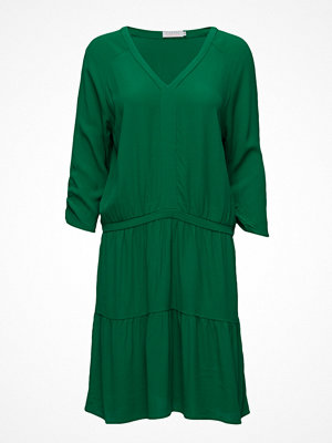 Coster Copenhagen Moss Crepe Dress W. Ruffel