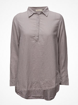 Rabens Saloner Dipped Hem Top